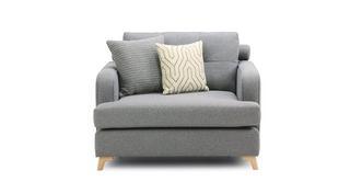 Zircon Cuddler Sofa