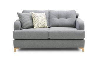 2 Seater Sofa Zircon Plain