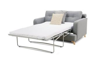 2 Seater Supreme Sofa Bed Zircon Plain