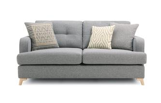 3 Seater Sofa Zircon Plain
