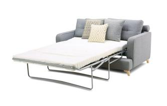 3 Seater Supreme Sofa Bed Zircon Plain