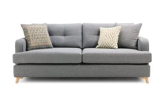 4 Seater Sofa Zircon Plain