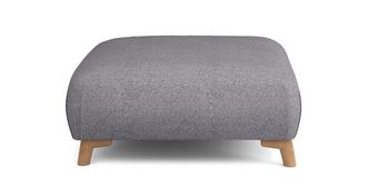 Zircon Plain Large Footstool