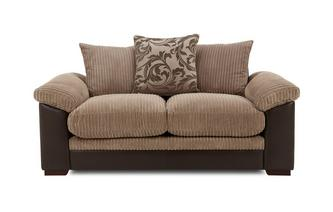 2 Seater Pillow Back Deluxe Sofa Bed Inception