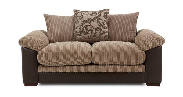 Zodiac 2 Seater Pillow Back Deluxe Sofa Bed