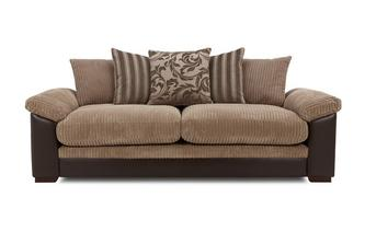 4 Seater Pillow Back Sofa Inception