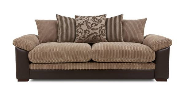 Zodiac 4 Seater Pillow Back Sofa