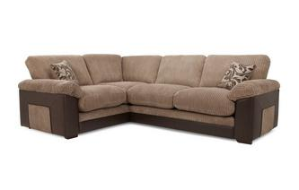 Right  Hand Facing 2 Seater Formal Back Corner Sofa Inception