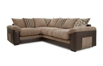 Right Hand Facing 2 Seater Pillow Back Corner Sofa Inception