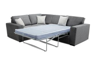Right Hand Facing 2 Seater Deluxe Corner Sofabed