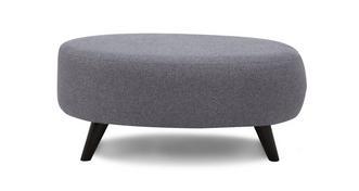 Zuri Large Oval Footstool