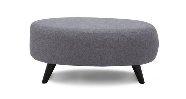 Zuri Large Oval Footstool